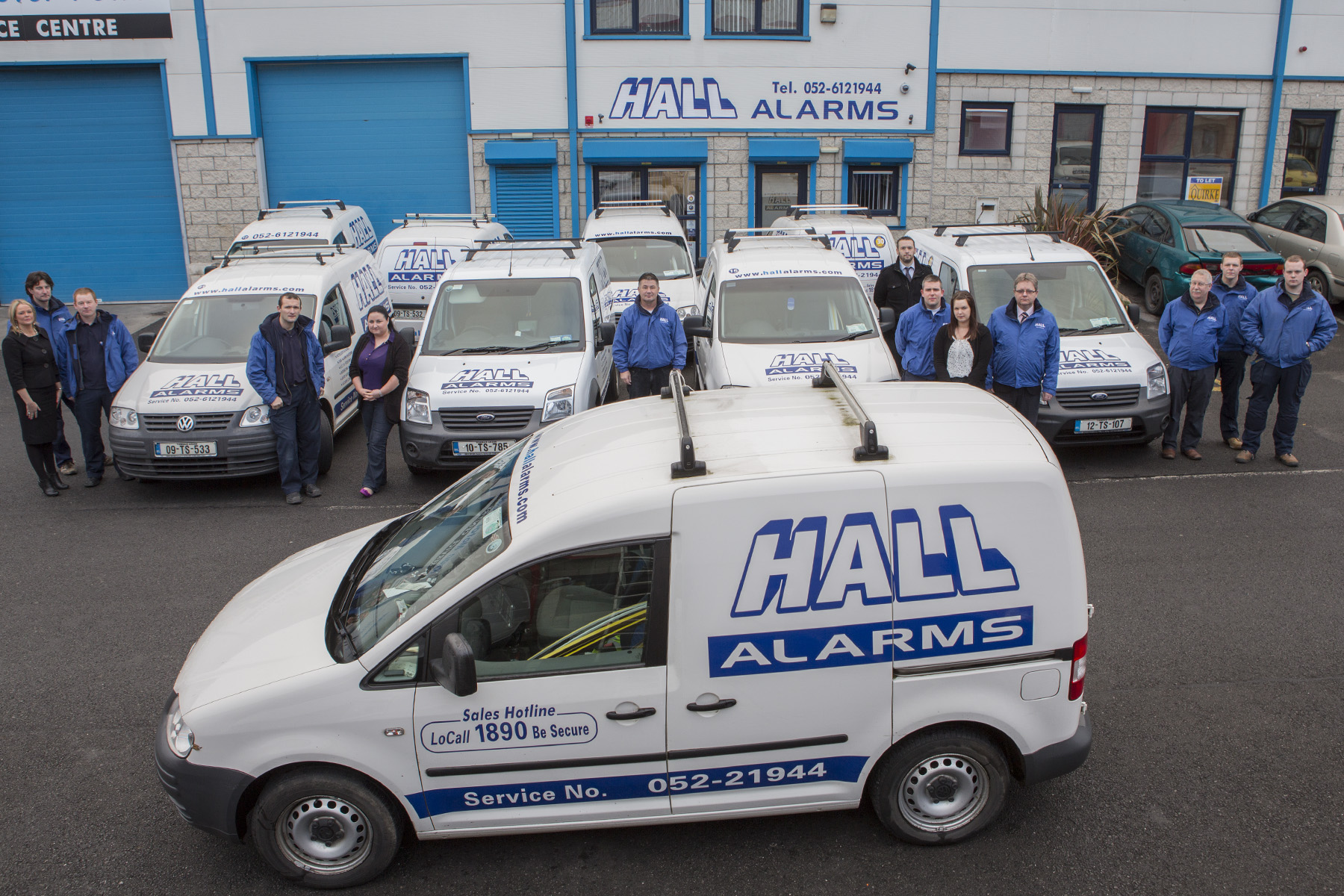 Hall Alarms Premises