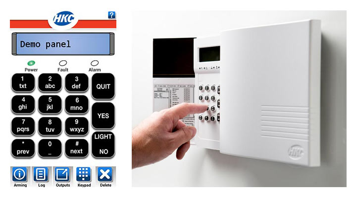 Security Alarm System and APP
